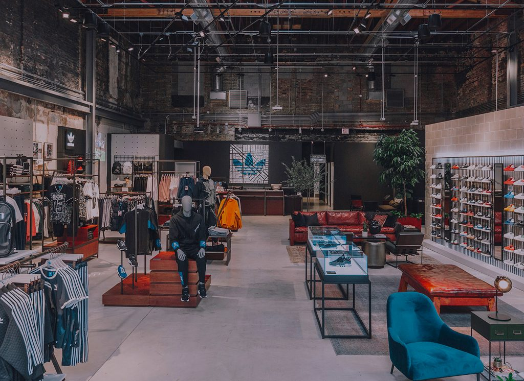 adidas Store Chicago – School of Sign Arts